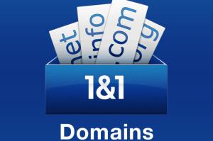 Registrar dominio o en 1and1 Dominios