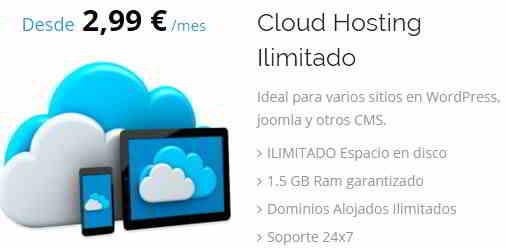 Hosting Ilimitado Plus Dominios