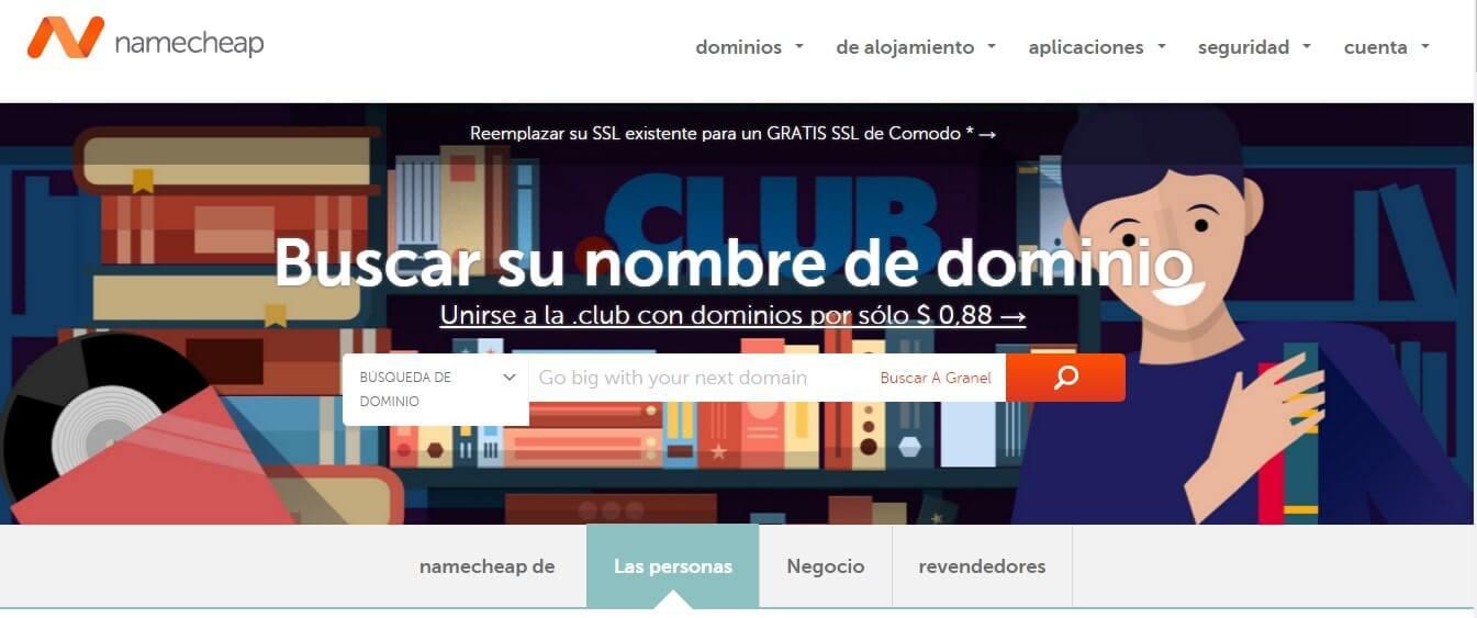 Registrar dominio gratis