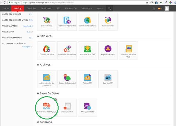 instalar wordpress en mi servidor