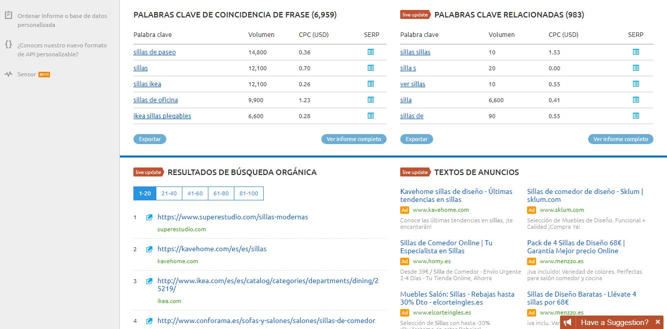 buscar keywords - buscar palabras clave - buscar herramientas - herramientas palabras clave