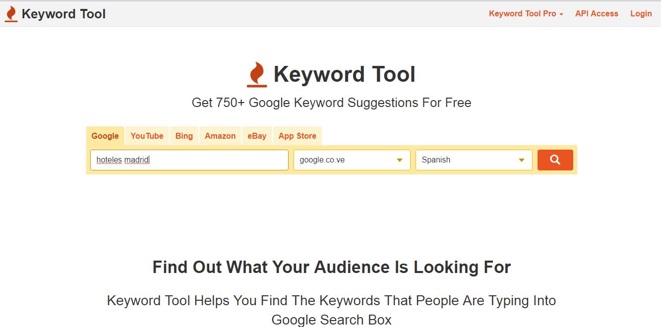 google adwords para palabras clave - buscar palabras clave - buscar herramientas - herramientas palabras clave