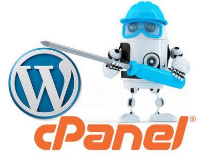 Cpanel para instalar Wordpress