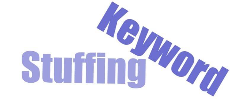 Cuando se hace keyword Stuffing se corre el riesgo de canibalizar palabras clave de otras páginas.