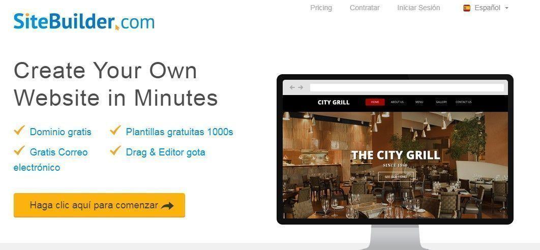 SiteBuilder diseño web