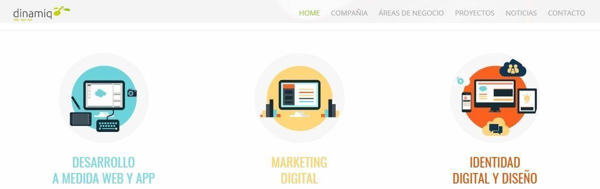 dinamiq diseño web