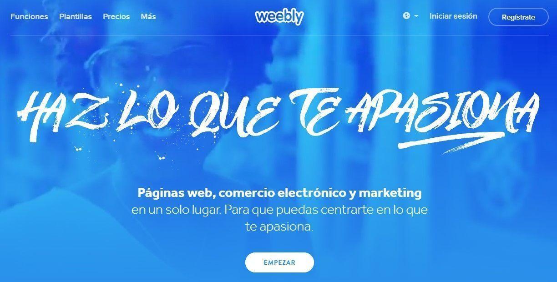 weebly diseño web
