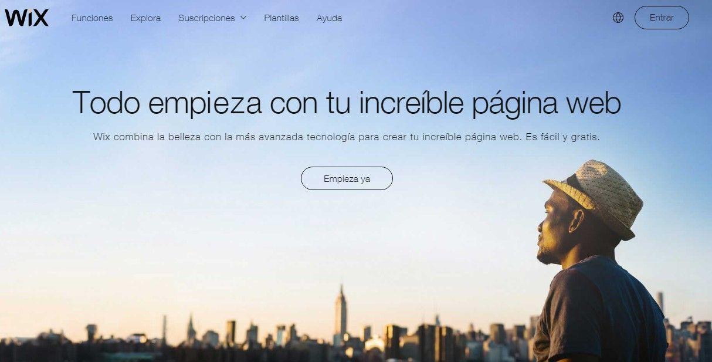 wix diseño web
